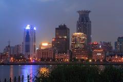 bundnatt shanghai Royaltyfri Fotografi