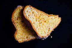 Bundt柠檬蛋糕 免版税库存照片