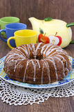 Bundt cake Royalty Free Stock Photo