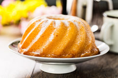 Bundt cake Royalty Free Stock Images