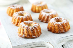 Bundt cakes Royalty Free Stock Image