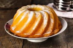 Bundt Kuchen Stockbild Bild Von Fruchtig Bäckerei Kaffee 59326461