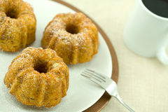 Bundts and Coffee Stock Photo