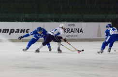 Bundy game Dynamo vs Baikal Royalty Free Stock Photography