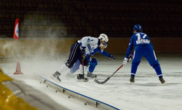 Bundy game Dynamo vs Baikal Royalty Free Stock Images