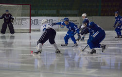 Bundy game Dynamo vs Baikal Royalty Free Stock Photo