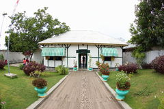 Bung Karno Seclusion House, Ende stock photography