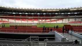 Bung Karno Stadium de Gelora Photographie stock libre de droits