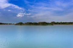 Bung Ta Lua park. Landscape the river, Bung Ta Lua water park Nakhon Ratchasima, Thailand Stock Image