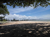 Bungai plaża Obrazy Royalty Free