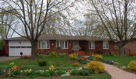 bungalow royaltyfri foto