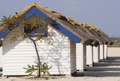 Bungalow at Black Sea Stock Photo