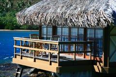 bungalow drewniany fotografia royalty free