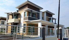 Bungalow House Exterior Royalty Free Stock Photography