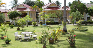 Bungalow of the island of Koh Samui, Thailand Stock Photography