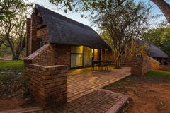 Bungalow in Kruger National Park Stock Photography