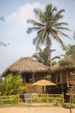 Bungalow na plaży w Agonda Obraz Royalty Free