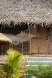 Bungalow na plaży w Agonda, Goa Zdjęcia Stock