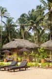 Bungalow na plaży w Goa, India Zdjęcia Royalty Free