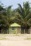 Bungalow na rge plaży w Agonda Fotografia Royalty Free