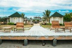 Bungalow na wybrzeżu Zdjęcie Royalty Free