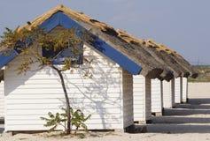 Bungalow no Mar Negro foto de stock