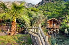 Bungalow on a resort, Turkey Stock Photo