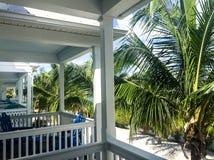 Bungalow tropical nas chaves de Florida Foto de Stock