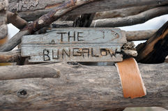 The Bungalow Royalty Free Stock Photography