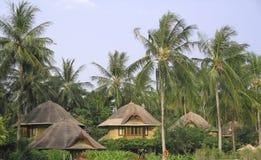 Bungalows. Thai style bungalows  krabi thailand Royalty Free Stock Photo