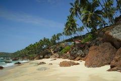 Bungalows on the Cabo de Rama Beach, Goa Stock Photography