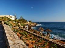 Bungalows complex- Stalis - Crete - Greece Royalty Free Stock Photo
