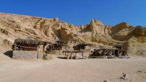 Bungalows at Red Sea, Egipt. Stock Photography