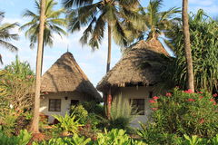 Bungalows von Sansibar Lizenzfreies Stockfoto