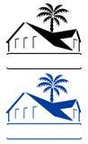 bungalowu znak royalty ilustracja