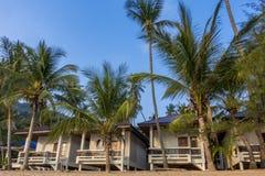 Bungalowwen in Coral Cove Beach, Koh Samui stock afbeelding