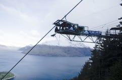 Bungee скача в NZ стоковая фотография rf