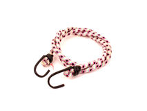 Bungee cord with hooks stock images
