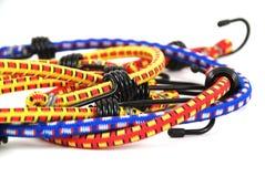Bungee cords stock photos