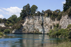 Bungee jump platform, Taupo, New Zealand Stock Photography