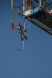 Bungee jumper Stock Image