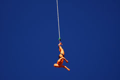 Bungee Jumper At The Rat Race Event Stock Photos