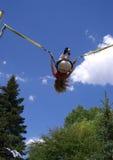 Bungee jumping stock photos