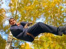 Bungee jumping Royalty Free Stock Photos