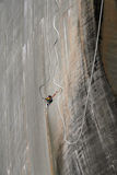 Bungee jumping. From the Verzasca dam Royalty Free Stock Images