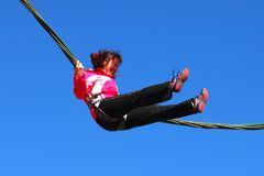 Free Bungee Jumping Royalty Free Stock Photos - 6538198