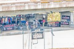 Bungee jumping at Bloukrans Bridge Royalty Free Stock Photo