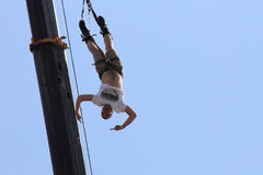 Bungee jumping Royalty Free Stock Photography