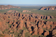 Bungle Bungles from Helicopter Royalty Free Stock Photos