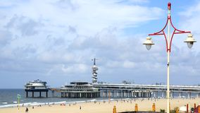 Free Bungy Jump Centre Scheveningen, Belgium Royalty Free Stock Images - 27492979